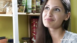 Cute erotic model Milena interview