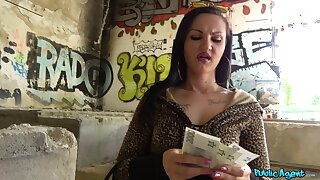 Fantastic POV action after the girl accepts cash
