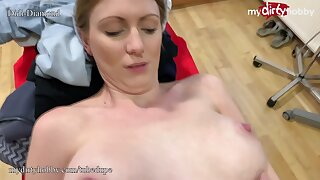 MyDirtyHobby - Doctor fucks busty blonde patient during check-up