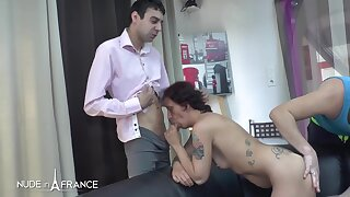 Cecilia Horny tattooed brunette gets sodomized