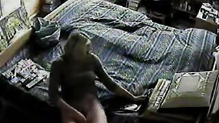 Mom Caught Masturbating on Hidden Cam