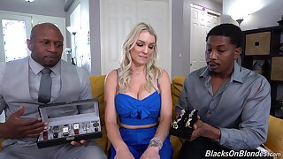 Whore gets blacked in home tyro triune