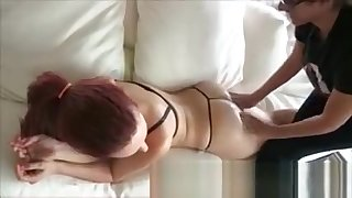 Amber Fast Jugs Massage
