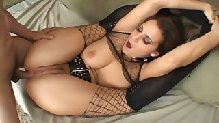 Sexy Mia Banggs can put her legs behind her back and she loves anal sex